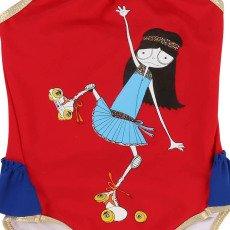 Little Marc Jacobs Baby Rollerskaje Miss Marc 1 Piece Swimsuit-product