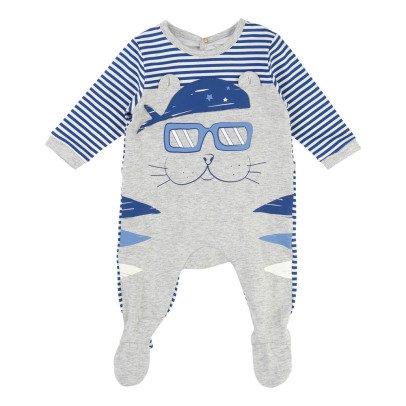 Little Marc Jacobs Animal Striped Pyjamas-listing