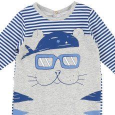 Little Marc Jacobs Gestreifter Pyjama Tiere -listing