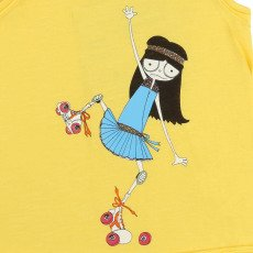 Little Marc Jacobs Camiseta Miss Marc Rollers	-listing