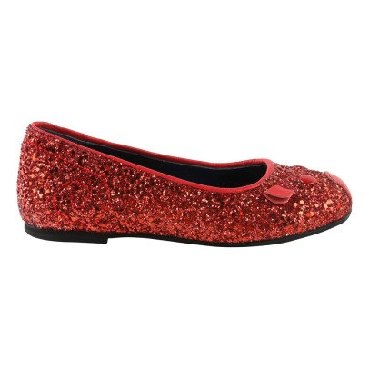 Little Marc Jacobs Glitter Mouse Ballerinas-listing