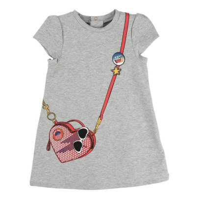 Little Marc Jacobs Bag Fleece Dress-product