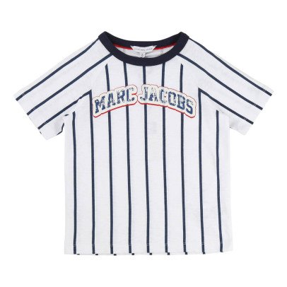 Little Marc Jacobs Striped Baseball T-Shirt-listing