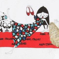 Little Marc Jacobs T-shirt Miss Marc Tapis Rouge-listing