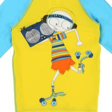 Little Marc Jacobs Camiseta Anti Rayos UVA Bicolor Mr Marc Rolles-listing