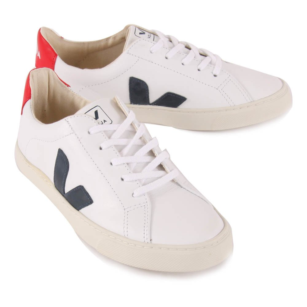 Esplar Lace-Up Leather Trainers-product