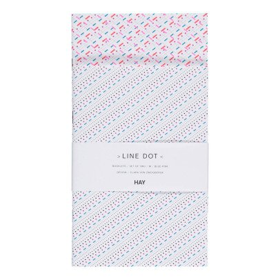 Hay Pink Polka Dot Notebook - Set of 2-listing