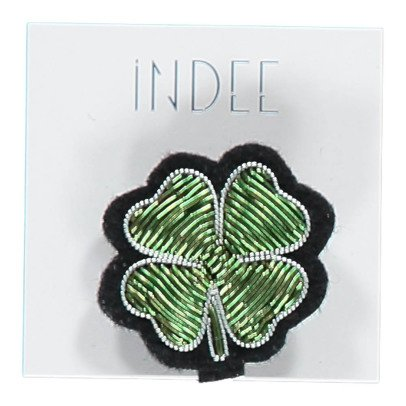 Indee Broche Trèfle Lucky-listing