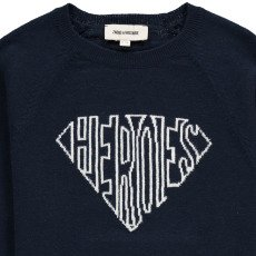 """Zadig & Voltaire Pull Coton Cachemire """"HEROES"""" Elvis-listing"""