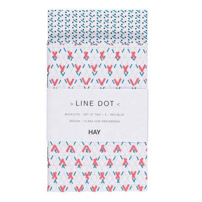 Hay Polka Dot Notebook - Set of 2-listing