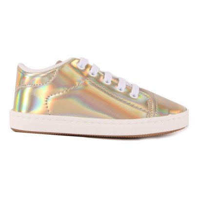 Babywalker Holographic Laced Trainers-listing