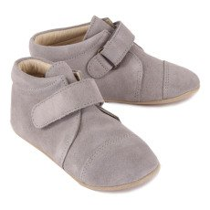 Petit Nord Suede Velcro Slippers-listing
