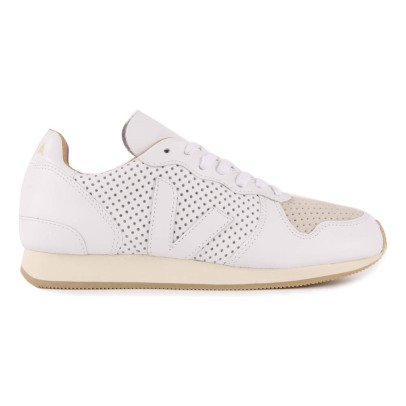 Veja Bastille Holiday Perforated Lace-Up Trainers-listing