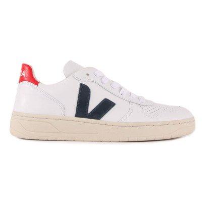 Veja Baskets Lacets Cuir V-10-listing