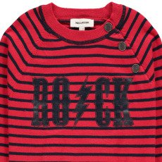 Zadig & Voltaire Pull Rayures Coton Cachemire Pete-listing