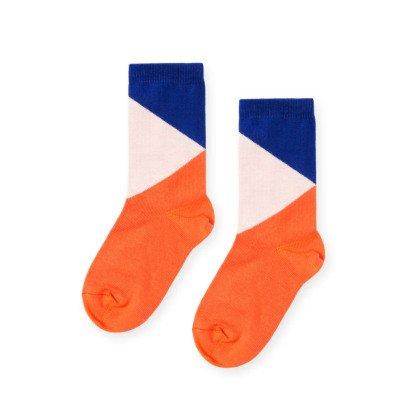 Hansel from Basel Dreifarbige Socken -listing