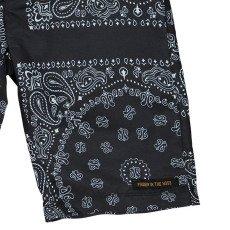 Finger in the nose Shorts da bagno Motivo bandana-listing