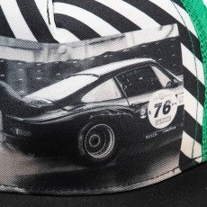 Finger in the nose Sunblade Car Striped Cap-listing