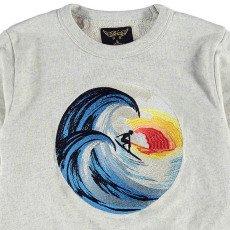 Finger in the nose Sweatshirt Surfer Stickerei -listing