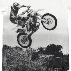 Finger in the nose T-shirt Moto -listing