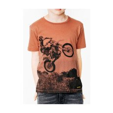 Finger in the nose T-shirt Moto Dalton-listing