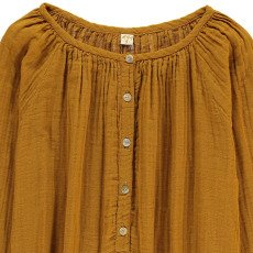 Numero 74 Blouse Manches Longues Naia Jaune moutarde-product