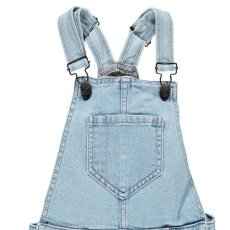 Finger in the nose Yumi Fringe Dungaree Shorts-listing