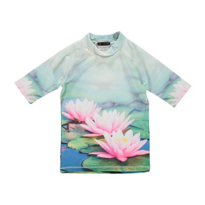 Finger in the nose Protector Water Lily UV Protective T-Shirt-product