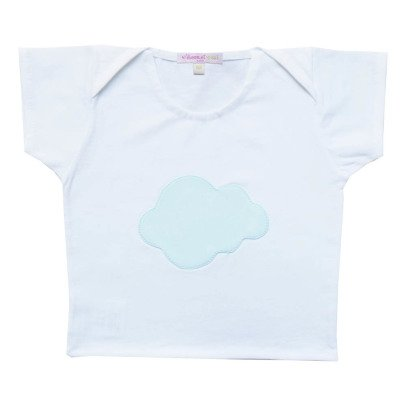 Moon et Miel Cloud Patch T-shirt-listing