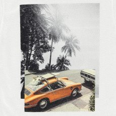 Finger in the nose T-shirt Voiture Surf Dalton-listing