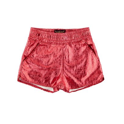 Finger in the nose Holiday Metallic Shorts-product
