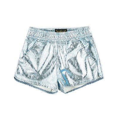Finger in the nose Holiday Metallic Shorts-listing