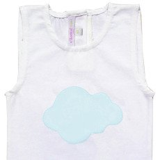 Moon et Miel Cloud Patch Babygrow-listing