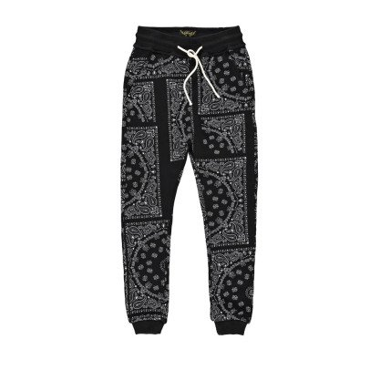 Finger in the nose Sprint Bandana Print Jogging Bottoms-listing