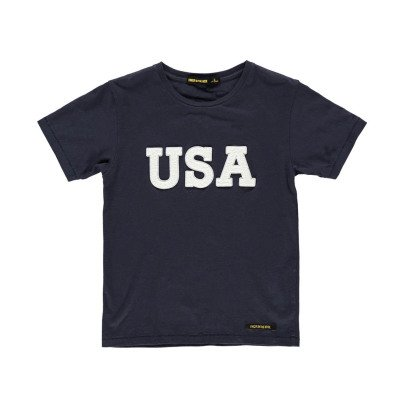 "Finger in the nose T-shirt ""USA""-listing"