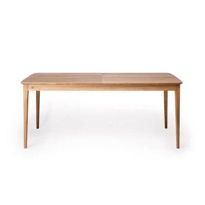Petite friture Table à rallonges rectangulaire en chêne 90x200 cm-listing