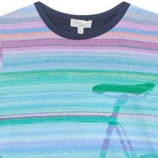 Paul Smith Junior Norham Striped Bike T-Shirt-listing