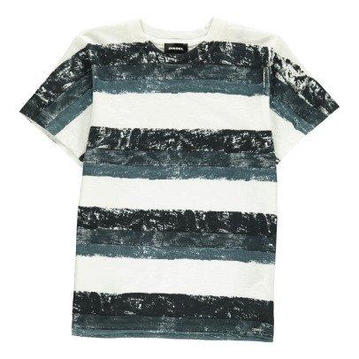 Diesel T-Shirt Bandes Peinture Taoli-listing