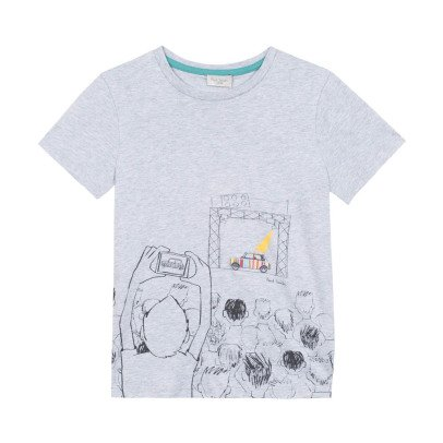 Paul Smith Junior Naelan Car T-Shirt-listing