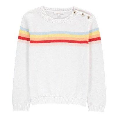 Chloé Gestreifter Pullover Regenbogen -listing