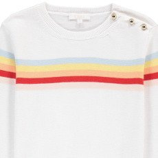 Chloé Rainbow Striped Jumper-listing