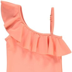 Chloé Asymetric Ruffle 1 Piece Swimsuit-listing