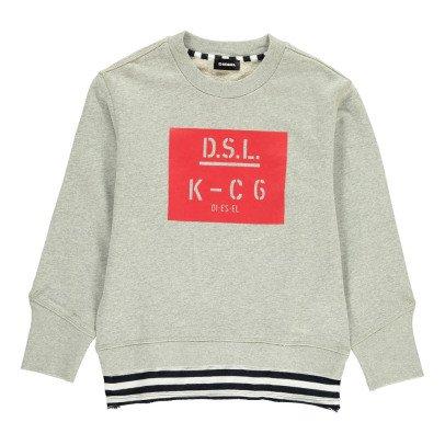 Diesel Sampa Striped Sweatshirt-listing