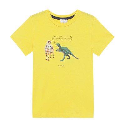 Paul Smith Junior T-Shirt Zebra Dino Nay -listing