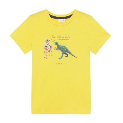 Paul Smith Junior T-shirt Zèbre Dino Nay-listing