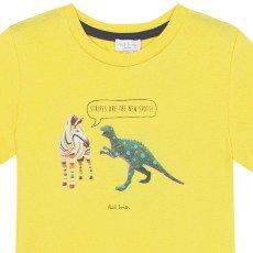 Paul Smith Junior Camiseta Cebra Dino Nay-listing