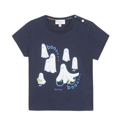 Paul Smith Junior T-shirt Phosphorescent Fantômes Nocturne-listing