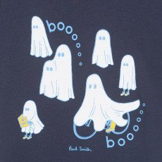 Paul Smith Junior Nocturne Ghost T-Shirt-listing