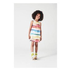 Paul Smith Junior Nelly Check Striped Dress-product