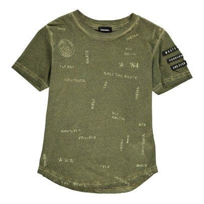 Diesel T-Shirt Délavé Todd-listing